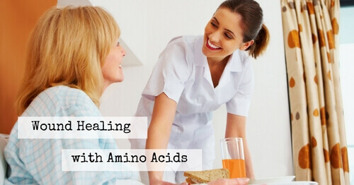 Helping Wounds Heal With Amino Acids